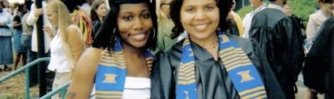 Tiffany Jones and Tenicia McKinnley Graduation