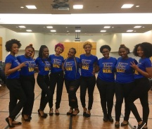 The OH Pretty Poodles at Meet the Greeks for the 2016-2017 School year
